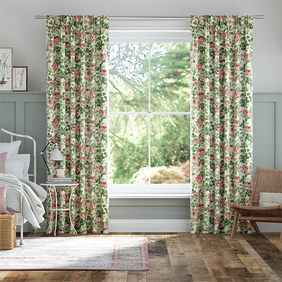 Roses Pink Curtains