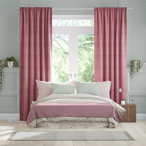 Rosie Summer Berry Curtains