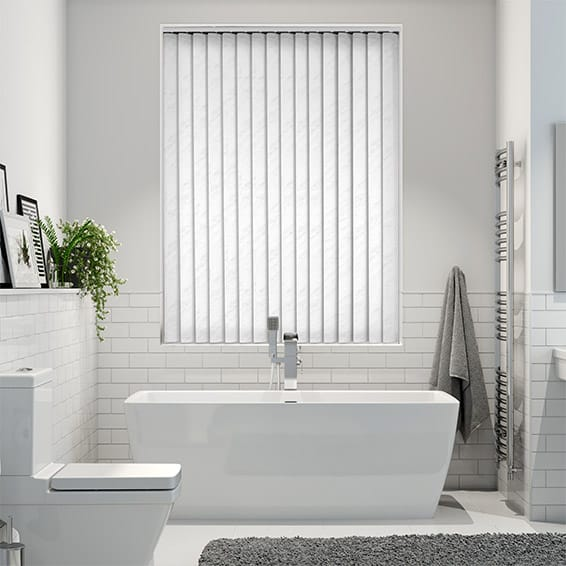 Sacramento Bright White Vertical Blind