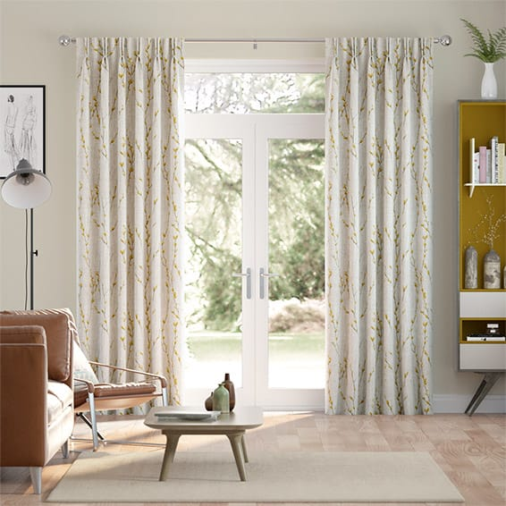 Salice Mustard Curtains