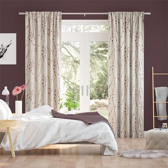 Salice Plum Curtains