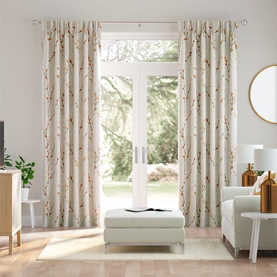 Salice Tangerine Curtains