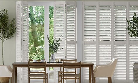 San Jose Premium Argent White Shutter Blinds thumbnail image