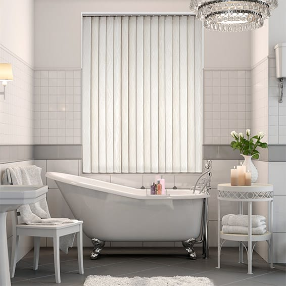 San Jose Rich Cream Vertical Blind