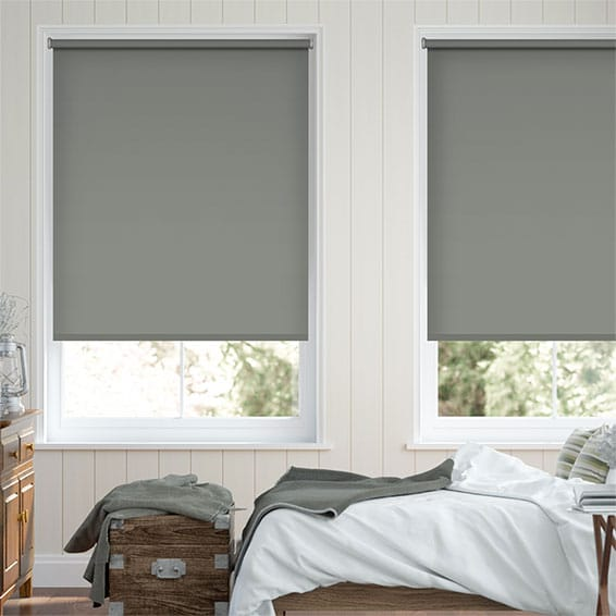 Santiago Blackout Chelsea Grey Roller Blind
