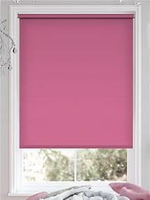 Santiago Blackout Passion Pink Roller Blind thumbnail image