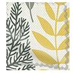 Scandi Ferns Linen Summer Roman Blind sample image