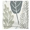 Scandi Ferns Linen Thunder Roman Blind sample image