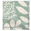 Scandi Ferns Vintage Linen Mint Roman Blind sample image