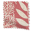 Scandi Ferns Vintage Linen Raspberry swatch image