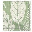 Scandi Ferns Vintage Linen Sage Roman Blind sample image