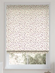 Scattered Hearts Pink Roman Blind thumbnail image