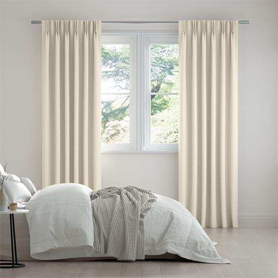 Scintilla Ivory Curtains