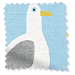 Seagulls Blue Haze Curtains sample image
