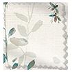 Secret Garden Faux Silk Inky Blue Roman Blind swatch image