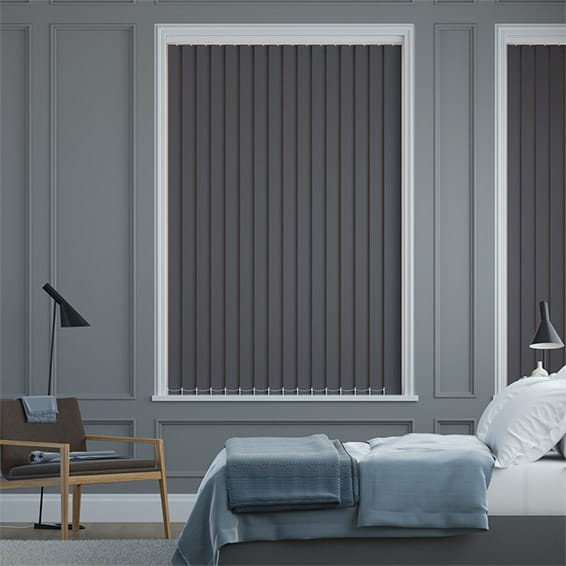 Sevilla Anchor Grey  Vertical Blind