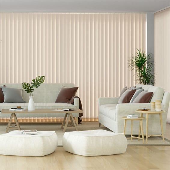 Sevilla Antique Cream Vertical Blind