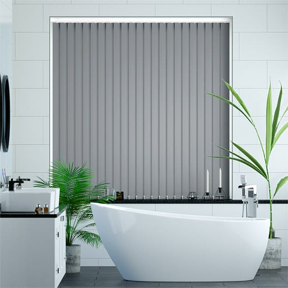 Sevilla Blue Grey  Vertical Blind