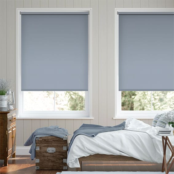 Sevilla Blackout Glacier Blue Roller Blind