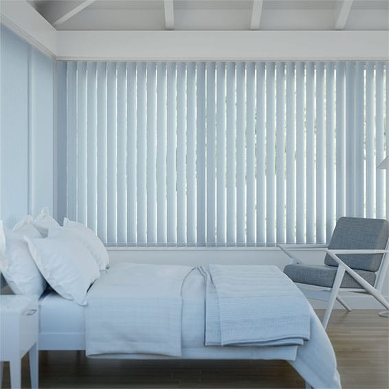 Sevilla Mayan Blue Vertical Blind