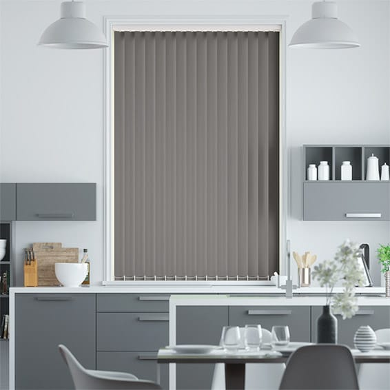 Sevilla Touchstone Grey  Vertical Blind