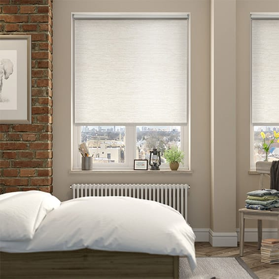 Shot Silk Blackout Pearl Roller Blind