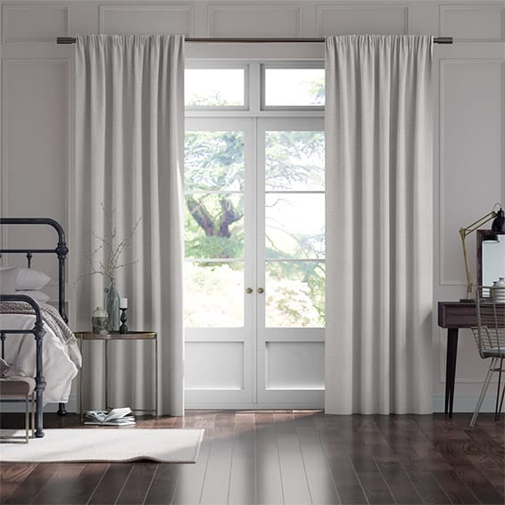 Sigma Silver Pearl Curtains