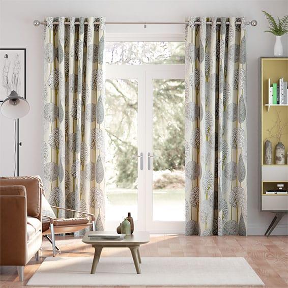 Silhouette Linen Curtains