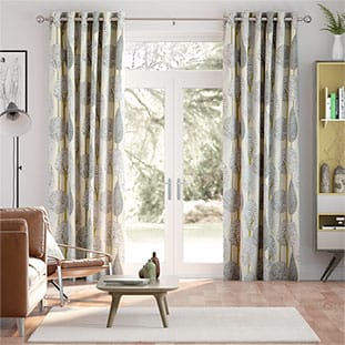 Silhouette Linen Curtains thumbnail image