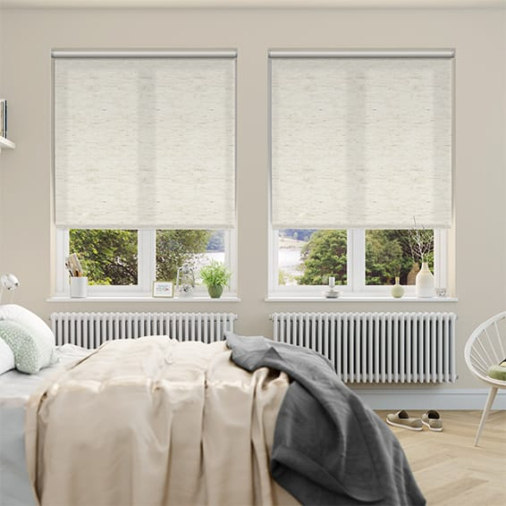 Simplicity Linen Ivory Roller Blind