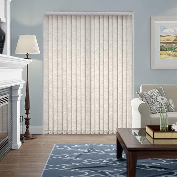 Simplicity Linen Ivory Vertical Blind
