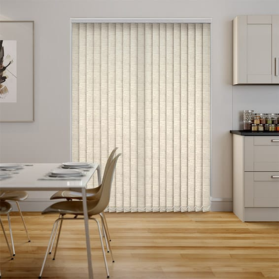 Simplicity Linen Natural Vertical Blind