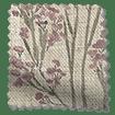 Slender Forest Linen Vintage Violet Roman Blind swatch image