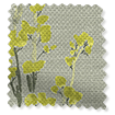 Slender Forest Linen Zest Roman Blind swatch image