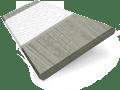 Smokey Ash & Chalk Faux Wood Blind - 50mm Slat slat image