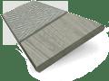 Smokey Ash & Smoke Faux Wood Blind - 50mm Slat slat image