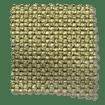 Smooth Sisal Green Gold Roman Blind sample image