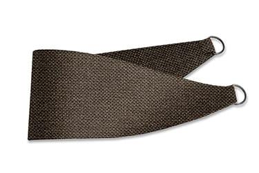 Smooth Sisal Warm Cocoa Curtains - Tiebacks