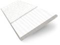 Snowdrift & Fresh White Faux Wooden Blind - 50mm Slat slat image