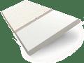 Soft White & Linen Wooden Blind - 50mm Slat slat image