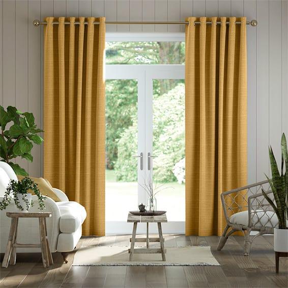 Sophie Mustard Curtains