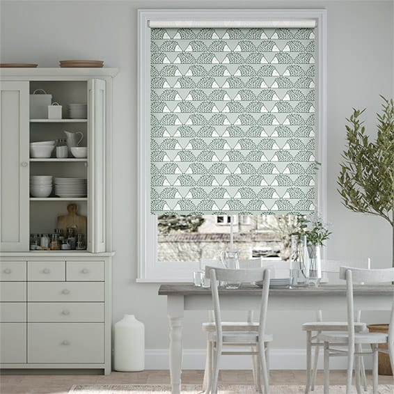 Spike Dove Grey Roller Blind