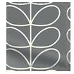 Splash Blackout Linear Stem Cool Grey Roller Blind swatch image