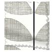 Splash Blackout Scribble Stem Grey Roller Blind sample image