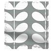 Splash Blackout Tiny Stem Cool Grey Roller Blind sample image