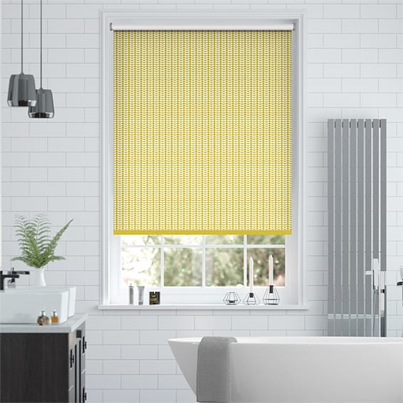 Splash Blackout Tiny Stem Zest Roller Blind
