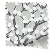 Spring Blossom Dove Grey Curtains sample image