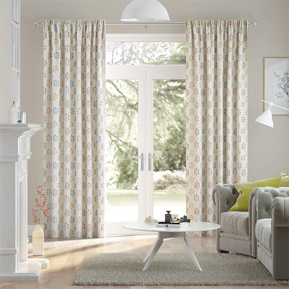 Spring Prairie Linen Autumn Curtains