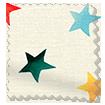 Starry Skies Multi Brights Curtains sample image
