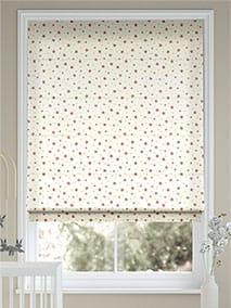 Starry Skies Rose Pink Roman Blind thumbnail image